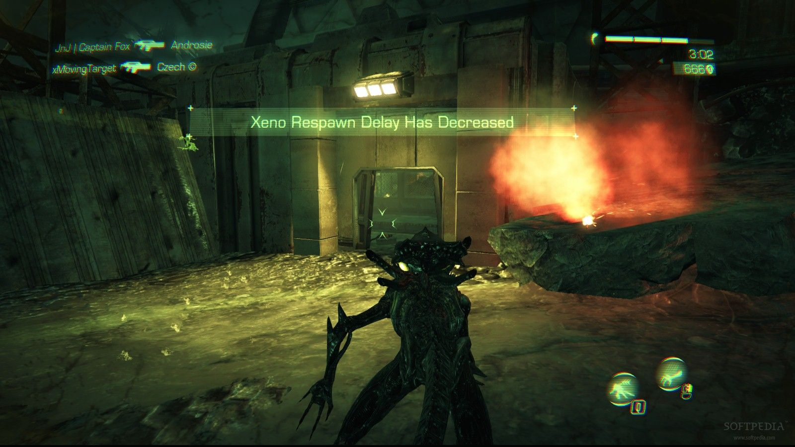 aliens colonial marines multiplayer xenomorph gameplay