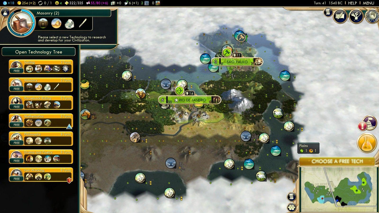Сценарий для цивилизации 5
