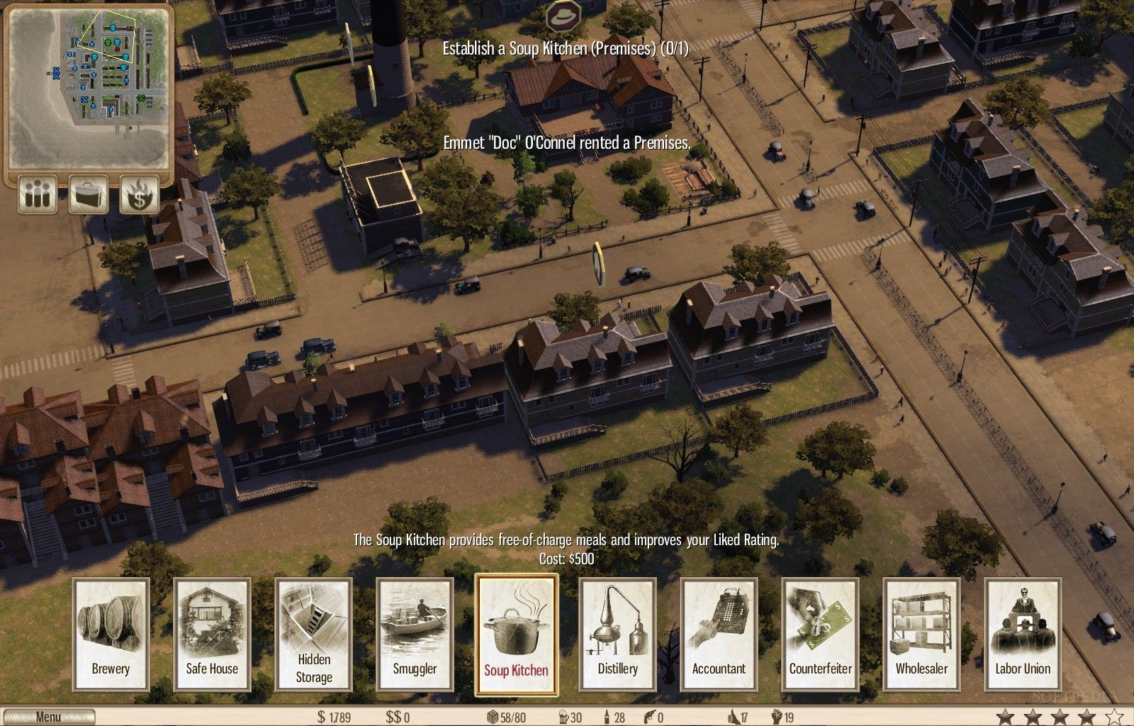 Omerta – City of Gangsters Review (PC)