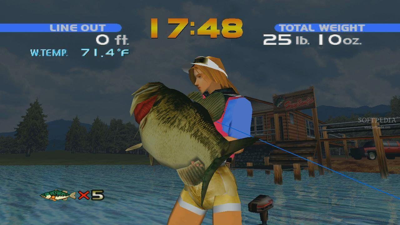 Sega bass fishing for Ps4 bass fishing games