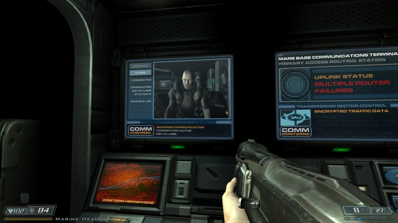 Much Of Doom 3 Such As This Section In The Delta Labs Was Planned Using Storyboards