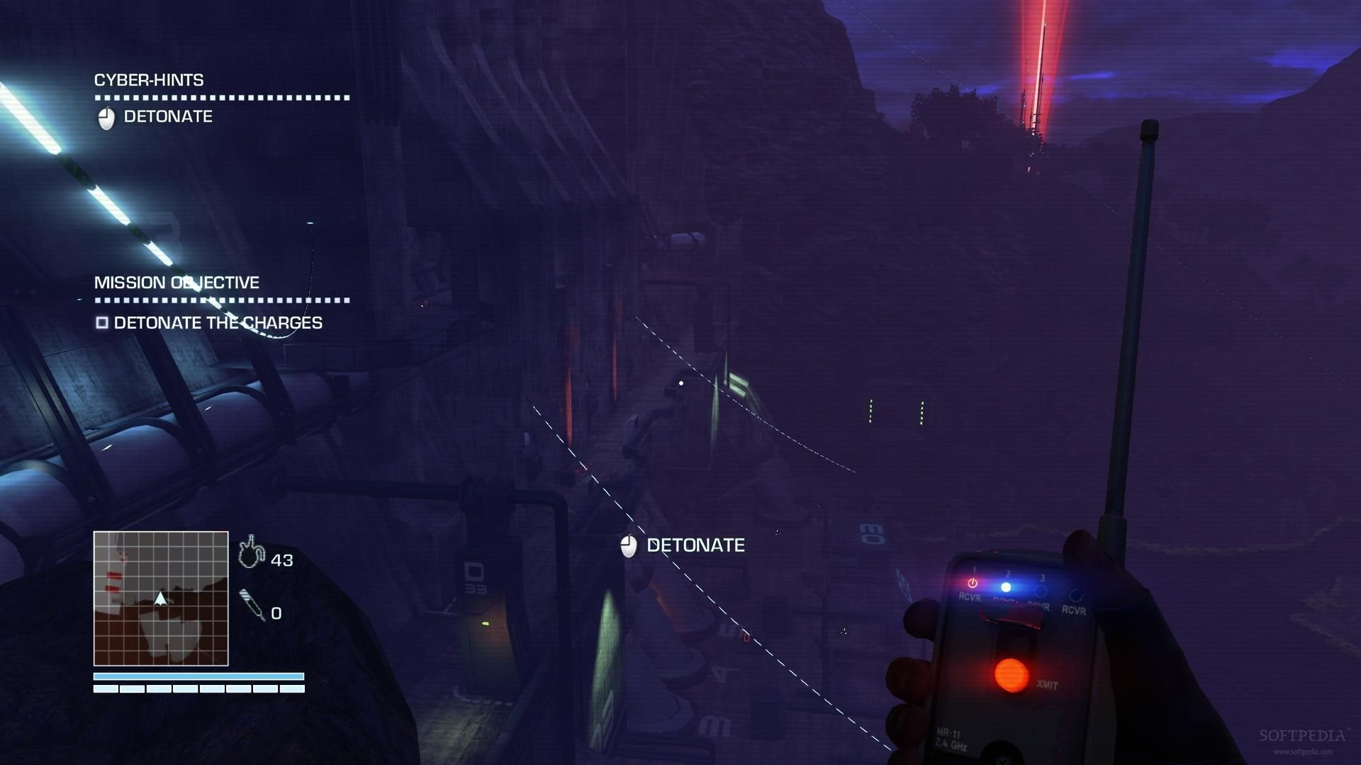how to use bow far cry blood dragon