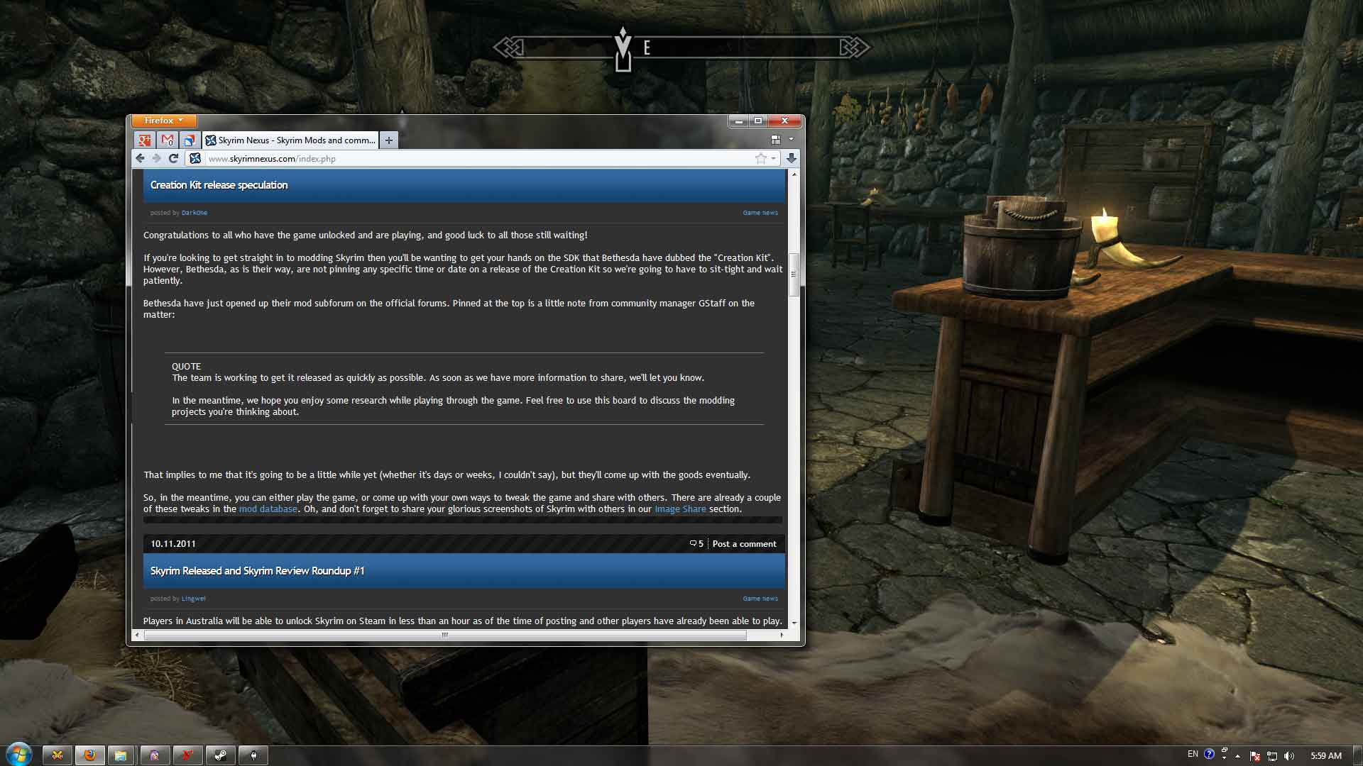 make a game windowed mode