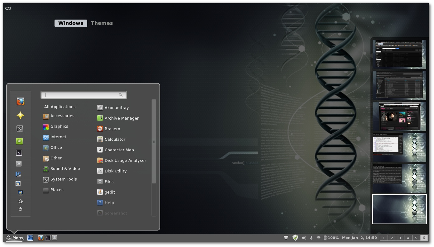 how to add a space in arch linux