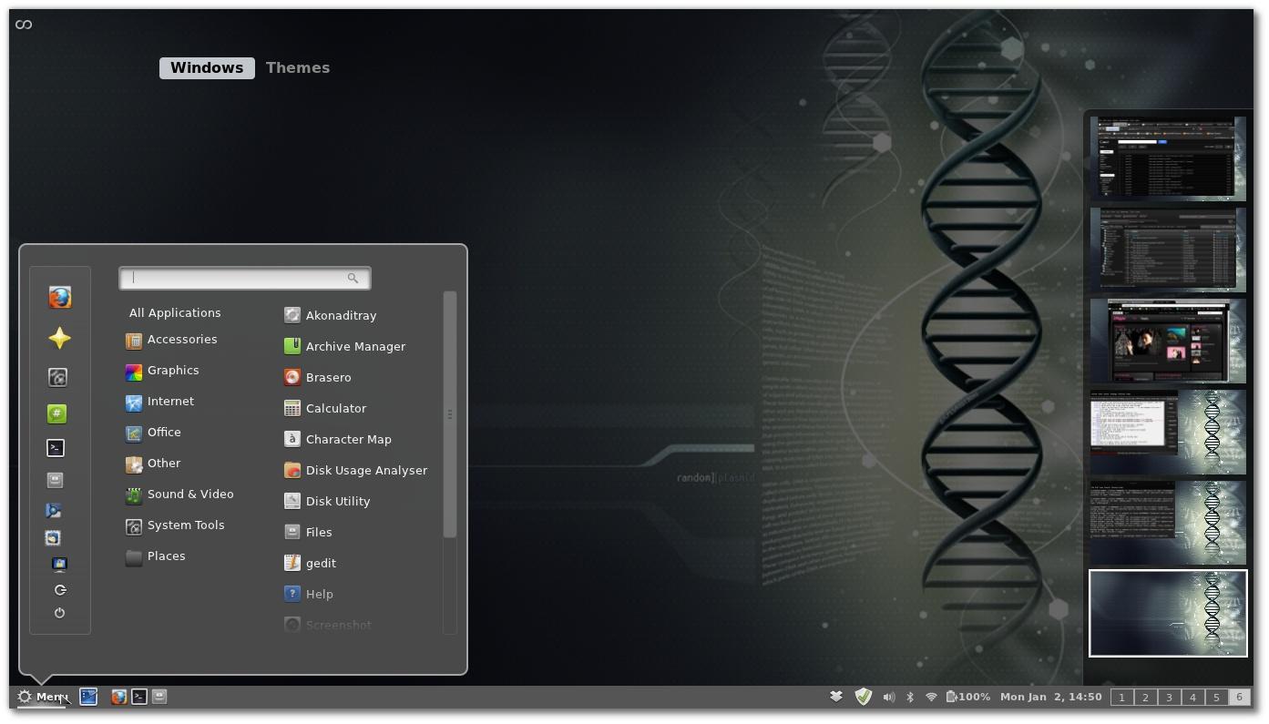 Debian Desktop Environment Desktop Environment