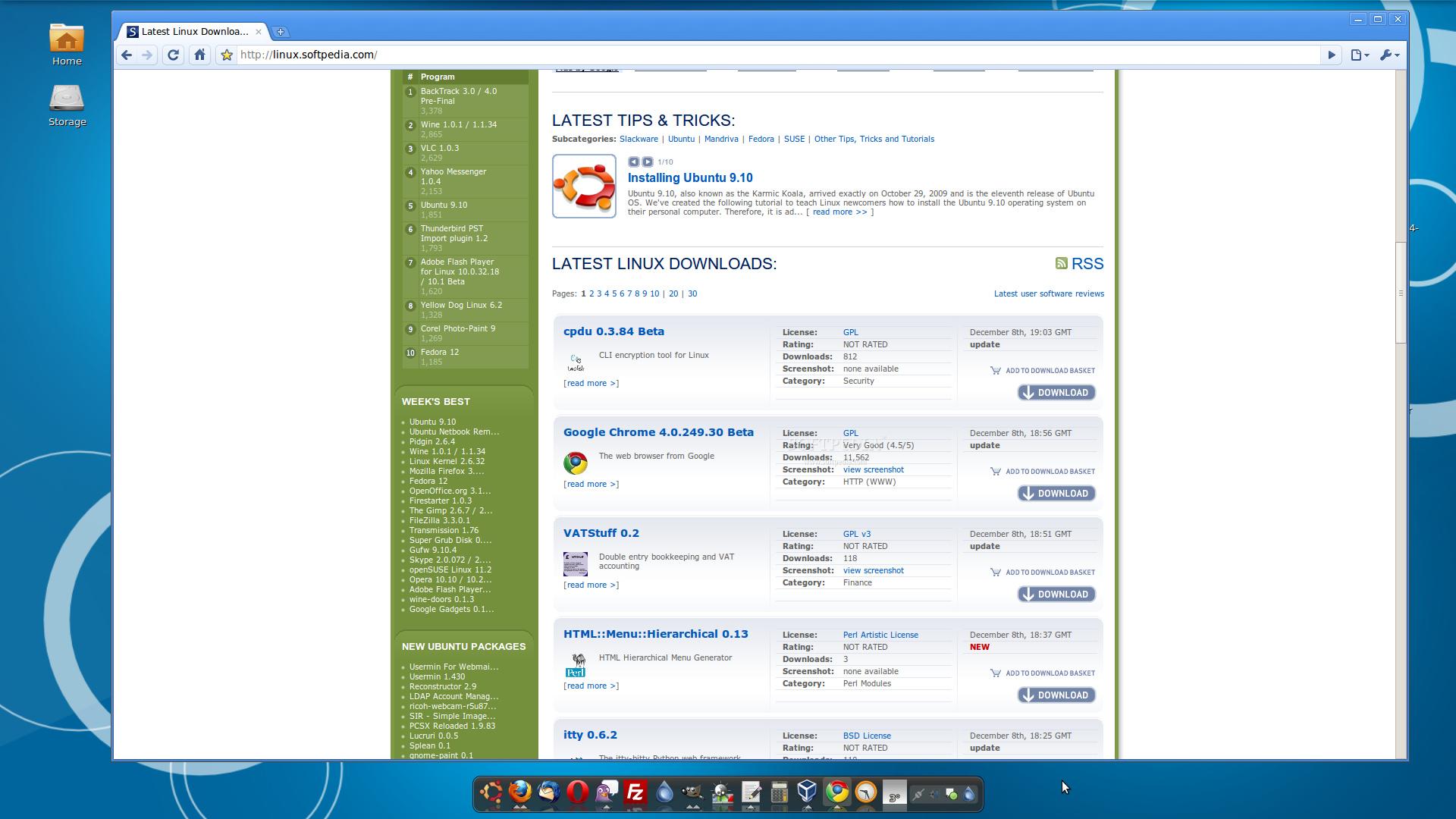 Google Chrome 4 0 Beta for Linux Arrives