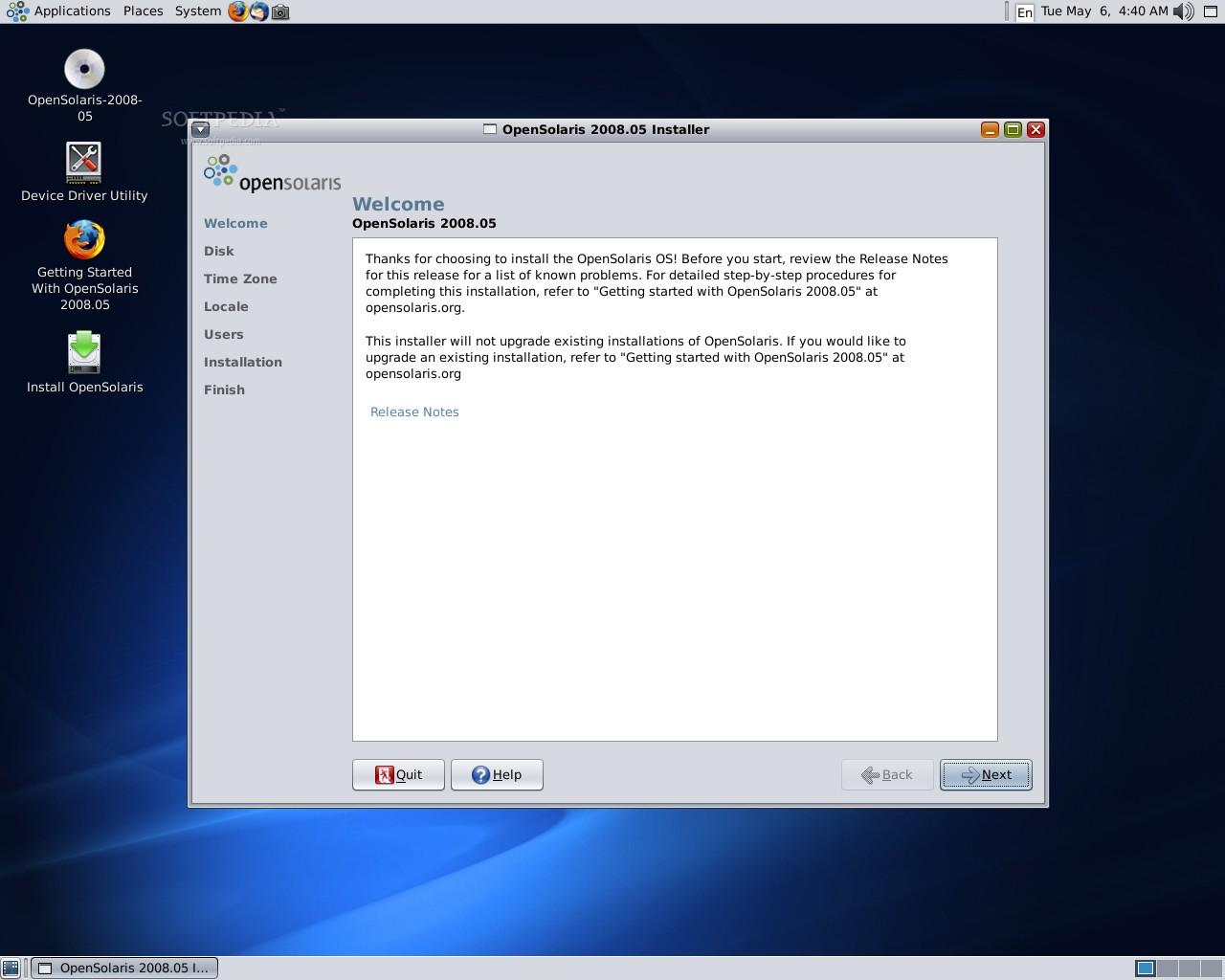 OpenSolaris 2008 5 Installation Guide
