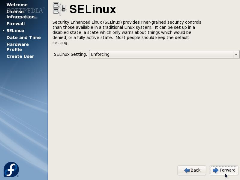 Installing Fedora 8 Werewolf