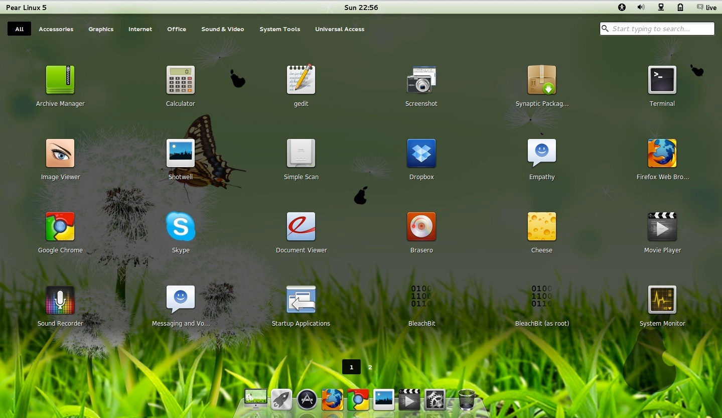 Pear linux 5 officially released for Windows distribution