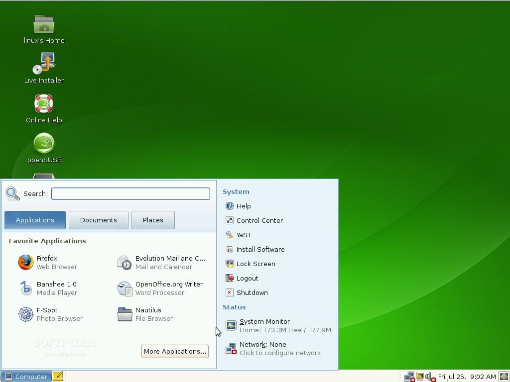 حصريا ستراه توزيعة OpenSUSE بروابط مباشرة