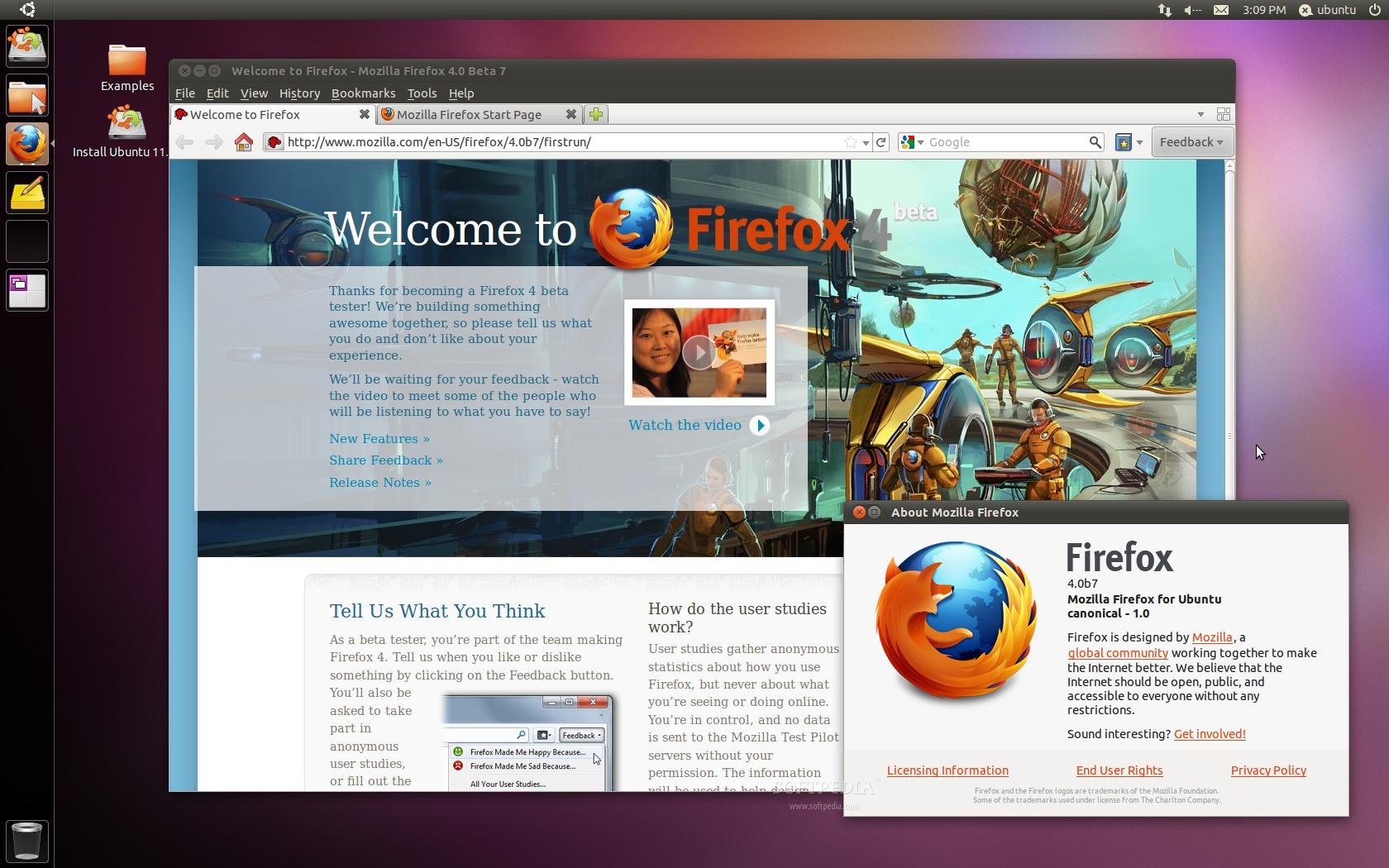 ������ Ubuntu (Natty Narwhal) ��������