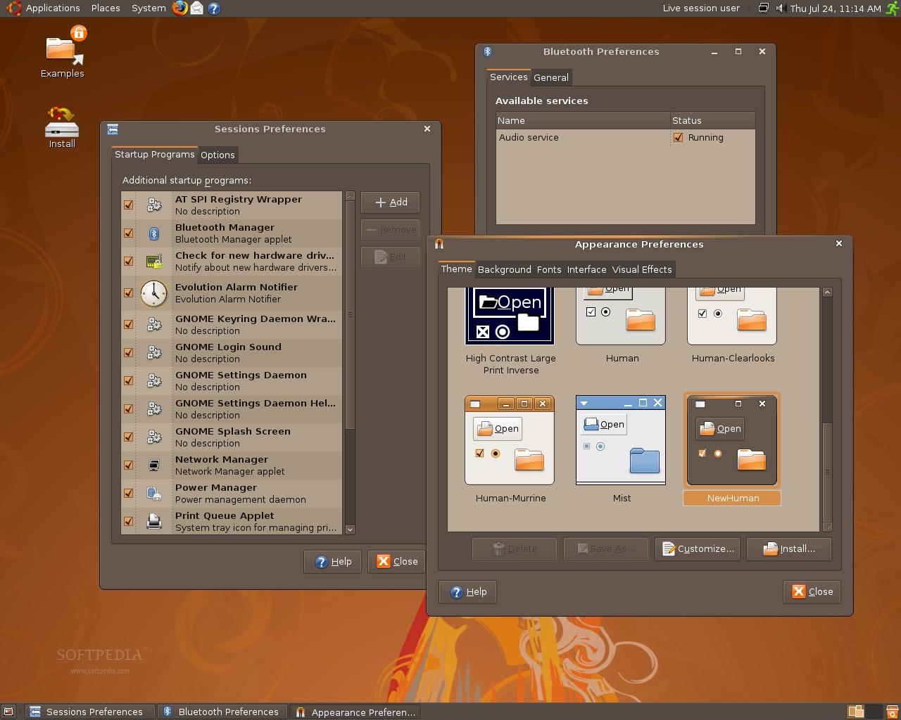 nubuntu 8 10 alpha descargar videos