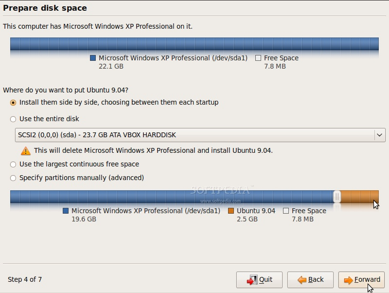 http://news.softpedia.com/images/extra/LINUX/large/ubuntu904installation-large_007a.jpg