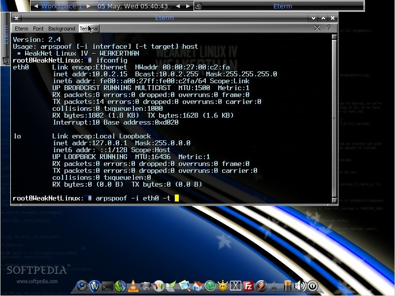 WeakNet IV Linux, a Great Distro for Security Experts
