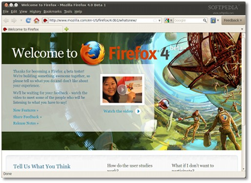 Firefox 4 Beta 1 Is Now Available for Download