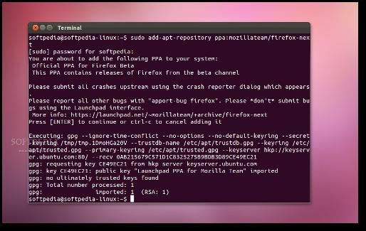 install firefox ubuntu server
