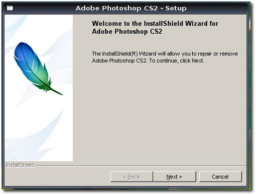 Install Photoshop CS2 on Your Ubuntu PC