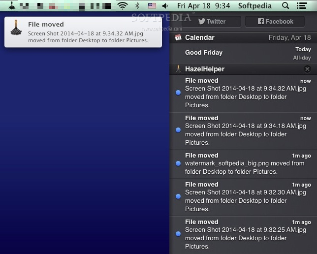 Smooth-Running and Unobtrusive File Organizer for Your Mac