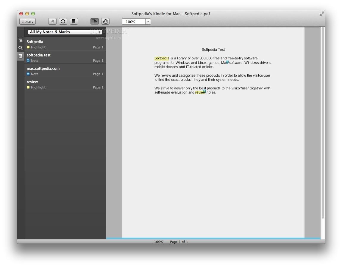 kindle book to pdf mac