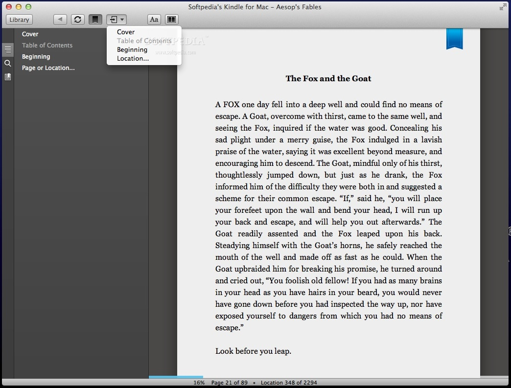 kindle for mac read e books from your desktop