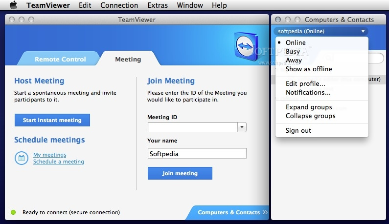 TeamViewer – Access Computers Remotely or Host Meetings