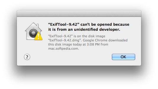 "Fix OS X Error ""Application Can't Be Opened Because It Is"