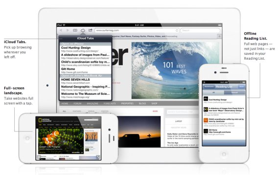 iOS 6 Features: Safari with iCloud Tabs