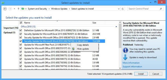 Windows Installer Error: Uninstallation of the patch