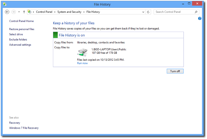 Windows backup how it works and how to create a system image.