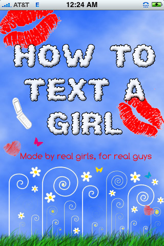 How To Text A Girl Iphone App Released