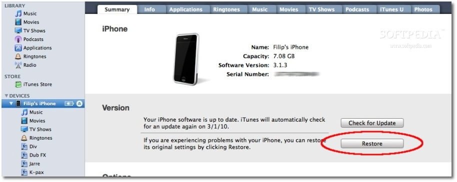Download iPhone / iPod IPSW Manually, Restore via iTunes (How-to)
