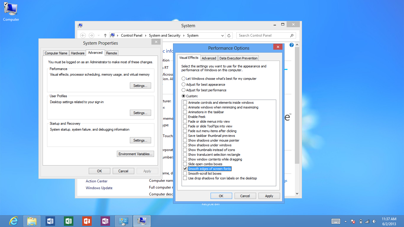 Windows 8 computer - Review Image