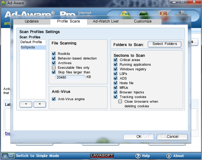 Lavasoft Ad-Aware Pro Internet Security (2010) v8.1.2