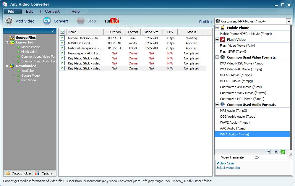 All format magic video converter full version free
