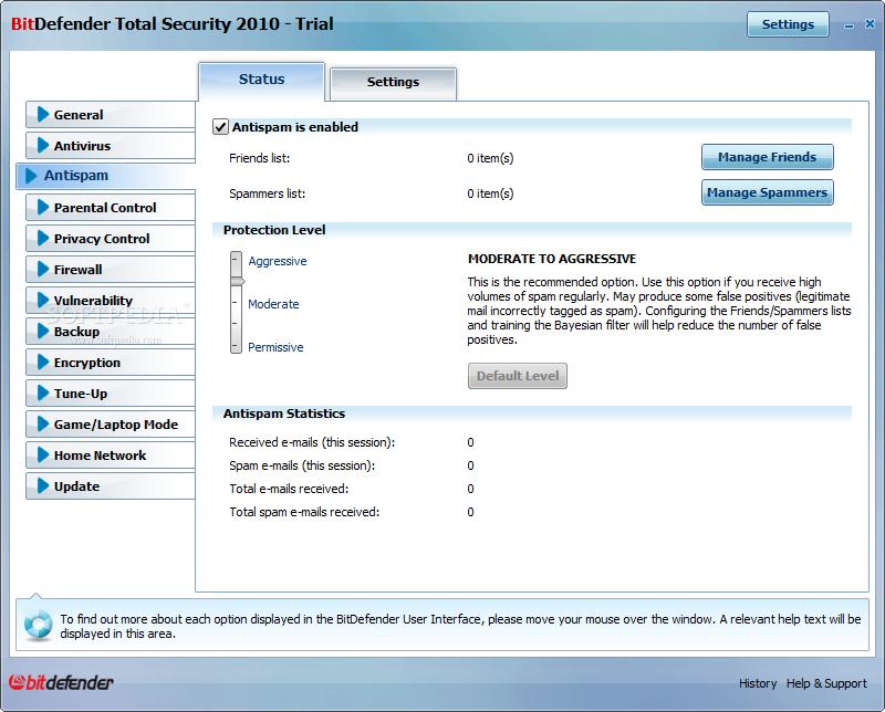 bitdefender internet security 2010  trial
