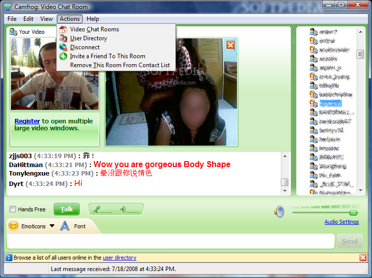 Camfrog Video Chat Cracked. .