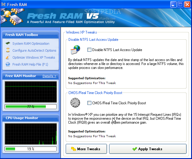 RAM Boost for Your System