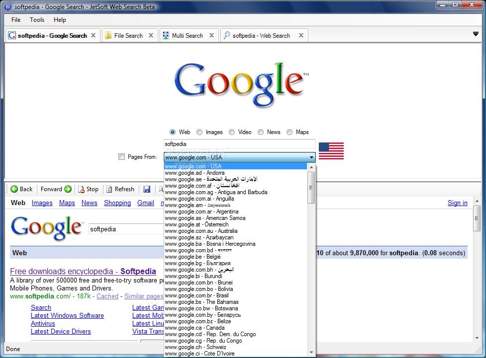 web search 1