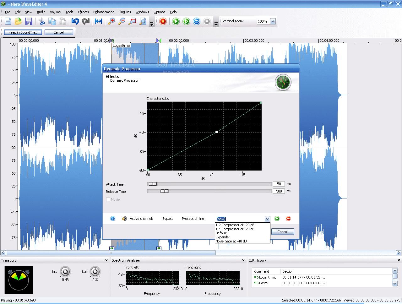 Nero wave editor скачать