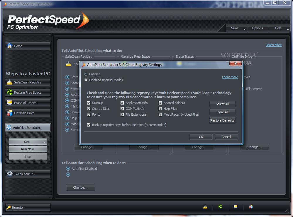 perfectspeed pc optimizer registration key