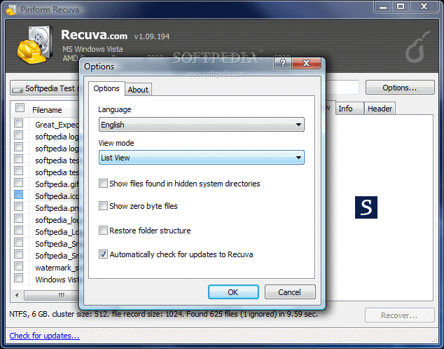 Piriform's Shift Delete Recover Tool