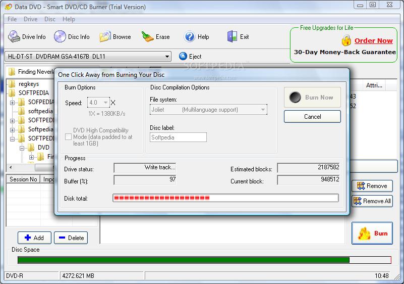 Smart DVD/CD Burner : http://www.burnersoft.com : Free ...