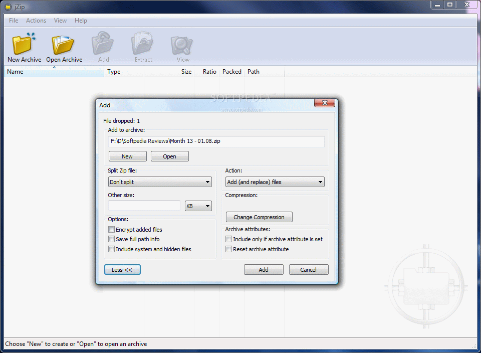 New Free Jzip 1.3