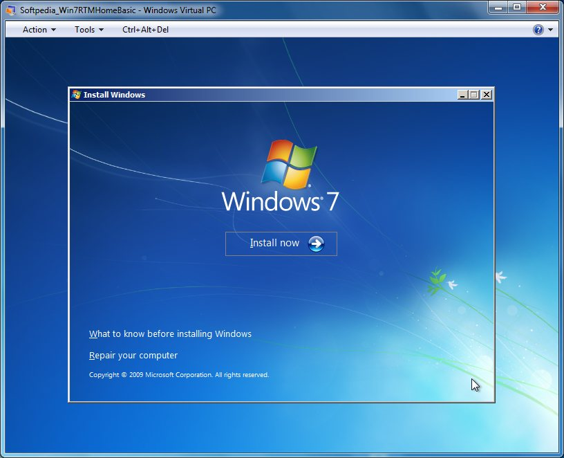 Jaydeep Naik: Windows 7 RTM Home Basic 110-Screenshot Gallery