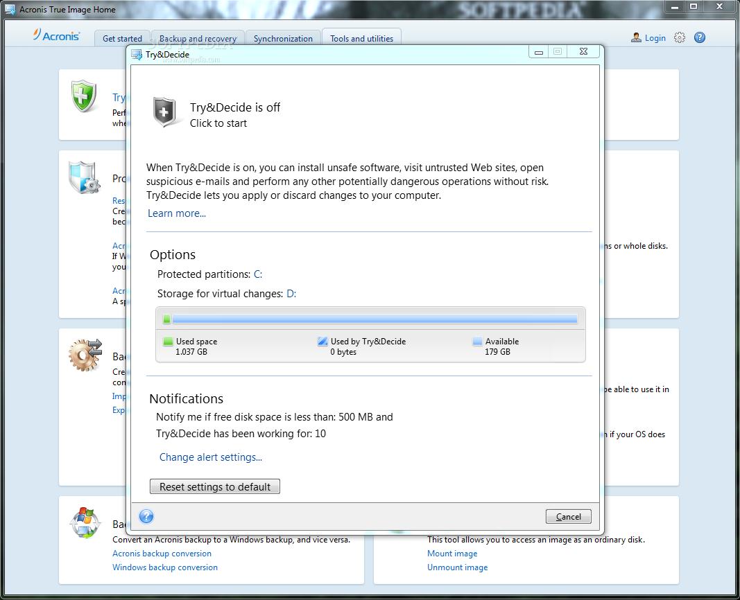 Acronis True Image Enterprise Server совершенствуется