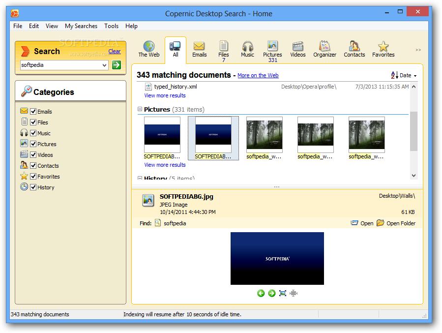 Copernic Desktop Search Home 6.0.0.10192 Review ...