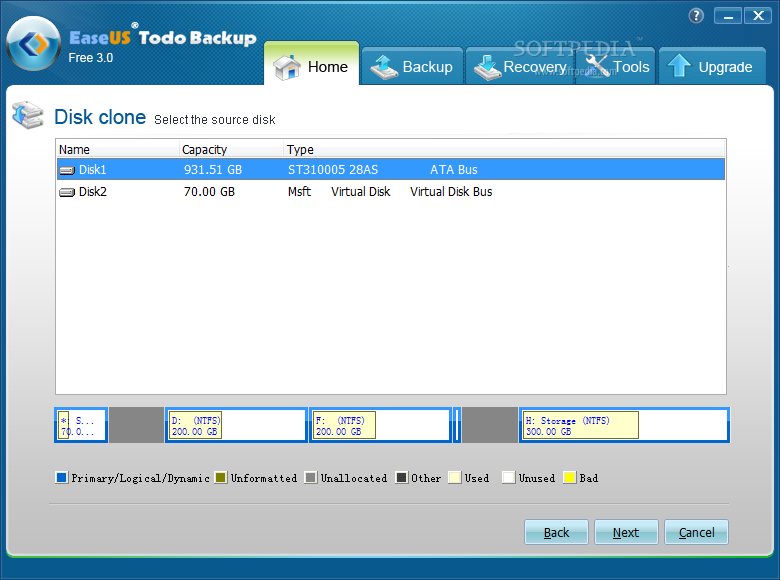 EaseUS Disk Copy Pro Edition 3.0 - top4download.com