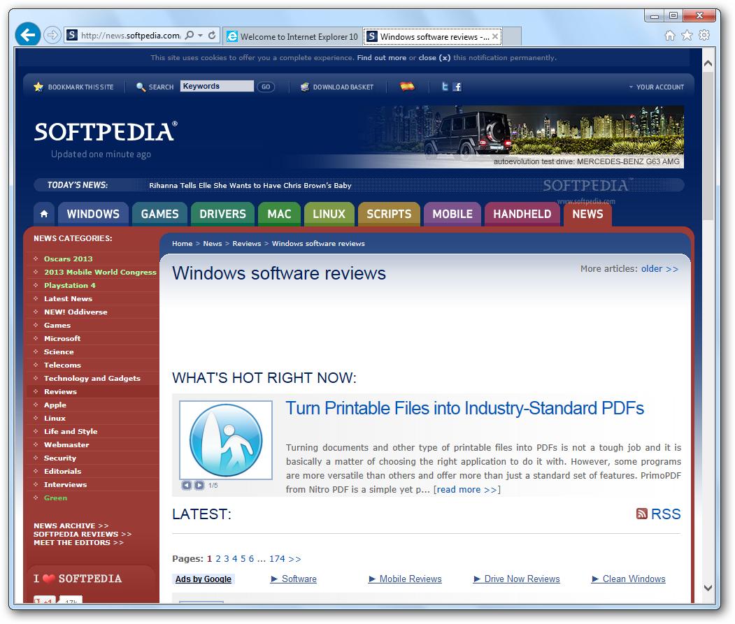 internet explorer 10 download for windows 8