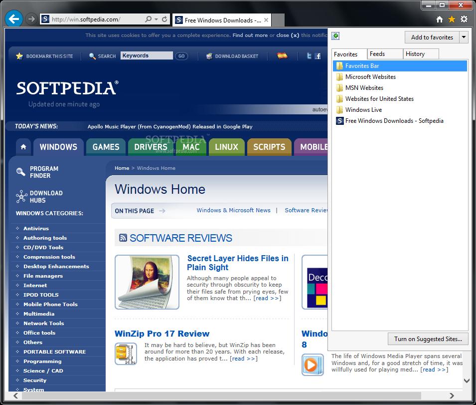 Internet Explorer 10 For Windows 7 Review