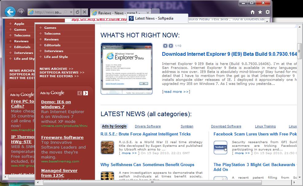 free download internet explorer 9 for windows 10